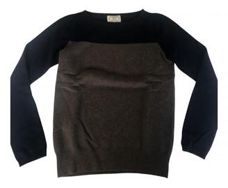 Agnona Brown Cashmere Knitwear