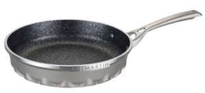 """Amercook Die Cast Aluminum Round Frying Pan with Induction Bottom 10"""""""