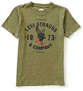 Levi's Big Boys 8-20 Short Sleeve Graphic Tee