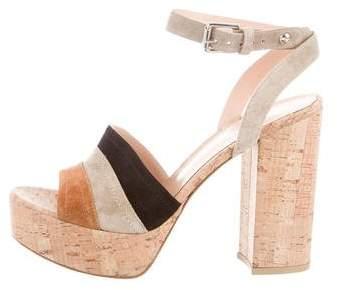 Gianvito Rossi Ankle Strap Platform Sandals