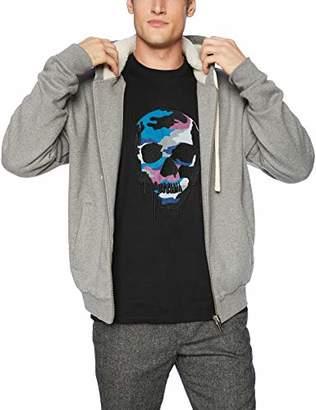 The Kooples Men's Men's Sweatshirt with Hood and Contrasting Trim