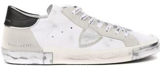 Philippe Model White Paris Leather Sneaker