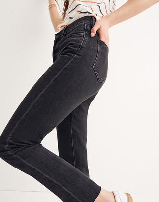 Madewell The Petite Perfect Summer Jean in Crawley Black Wash