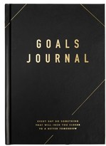 Kikki.k Goals: Life Essentials Journal - Black