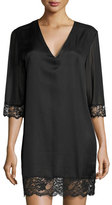 La Perla Jazztime Cotton-Silk Blend Sleepshirt