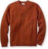 L.L. Bean Shetland Wool Sweater, Crew