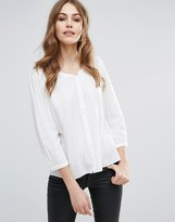 French Connection Empire Block Sleeve Shirt