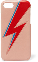 The Case Factory - Bowie Embossed Leather Iphone 7 Case - Pastel pink