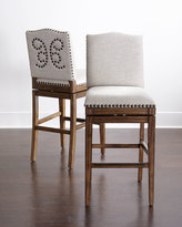 Horchow Shepard Swivel Counter Stool