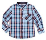 Andy & Evan Toddler's, Little Boy's & Boy's Plaid Button-Down Shirt