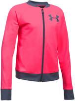 Under Armour Logo-Graphic Track Jacket, Big Girls (7-16)