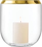 LSA International Space Lantern Vase Gold