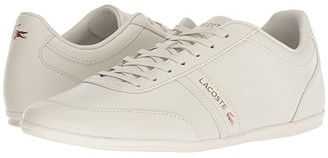 Lacoste Storda 318 3 US (Off-White/Off-White) Men's Shoes