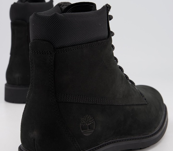 Thumbnail for your product : Timberland Mens Slim 6 Inch Boots Black Nubuck