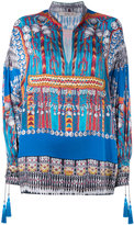 Etro printed tunic - women - Silk/Cotton/Polyester/Viscose - 40