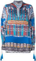 Etro printed tunic - women - Silk/Cotton/Polyester/Viscose - 42