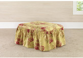 Sure Fit Ballad Bouquet Ottoman Slipcover