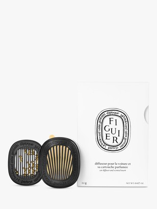 Diptyque Car Diffuser with Figuier Insert, 2.1g