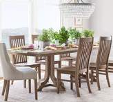 Pottery Barn Linden Fixed Table & Trieste Chair Dining Set