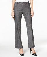 Calvin Klein Tweed Flare-Leg Trousers