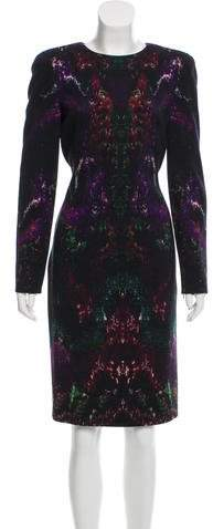 Alexander McQueen Printed Knee-Length Dress