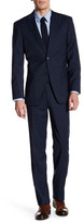 Tommy Hilfiger Vasser Blue Plaid Two Button Notch Lapel Suit
