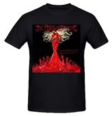 Jstmon In This Moment Rise Of The Blood Tee Shirt Men Ground Neck