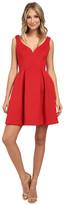 Donna Morgan Sleeveless Scuba Fit & Flare Dress