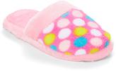 Pink & White Dot Slipper