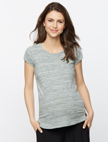 A Pea in the Pod Back Interest Maternity T Shirt