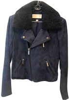 Michael Kors Blue Suede Jackets
