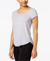 Calvin Klein Strappy-Back Space-Dyed T-Shirt
