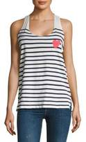 Sundry Maritime Striped Tank Top