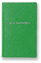 Smythson In A Nutshell Leather Book