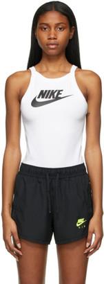 Nike White Sportswear Essential Bodysuit