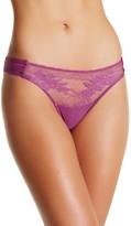 Wacoal Mesh Lace Paneled Thong