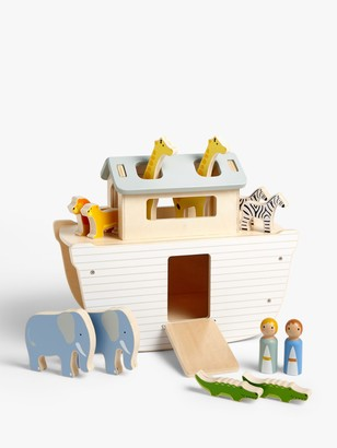 John Lewis & Partners My First Noah's Ark Wooden Toy