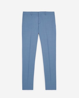 The Kooples Light blue wool suit trousers