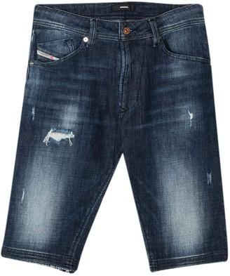 Diesel Slim Teen Denim Shorts