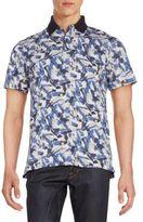 Victorinox Abstract-Print Polo Shirt