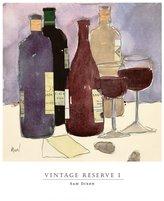 SAM. Poster Discount Vintage Reserve I Art Print Art Poster Print by Dixon, 13x14