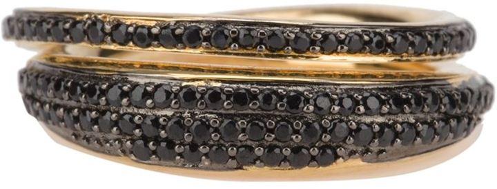 Tom Binns crystal embellished ring