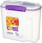 Sistema® 12-Cup Cereal Container in Purple