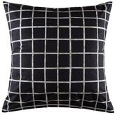Kas Lattitude Black/White Euro Pillowcase