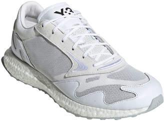 Y-3 Y 3 Men's Rhisu Dual-Layer Mesh Runner Sneakers