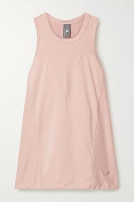 adidas by Stella McCartney Stretch-mesh And Jersey Tank - Pink