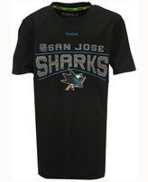 Reebok Boys' San Jose Sharks TNT Freeze Reflect T-Shirt