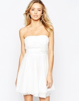 AX Paris Crochet Top Prom Dress