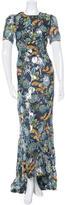 Anna Sui Silk Maxi Dress w/ Tags