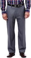 Haggar Expandomatic Stretch Classic-Fit Flat-Front Pants